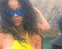 Rihanna sullo yacht a Ponza Bikini e fisico mozzafiato