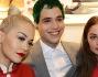 Rita Ora e Ricky Hilfiger e Marie Ange Casta