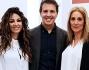 Il Dott. Biagio Simonetti con Fanny Cadeo, Savino Zaba e Cristina Lenci