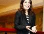 Sabrina Ferilli per l'occasione ha optato per un look black & white