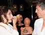 Samanta Togni e Daniele Mai casual entrambi hanno scelto un look comodo e fresco