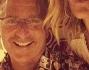 Elena Sanrarelli selfie con Paolo Bonolis con un inedito baffetto e Bruno Bortot