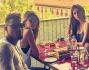 Cena tra amici per Melissa Satta e Kevin Prince Boateng