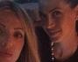 Ancora serata mondana per l'ex velina mora Melissa Satta in compagnia delle inseparabili amiche Samantha Crippa e Barbara Petrillo
