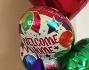 Palloncini colorati per il ritorno di Maddox e Melissa Satta a Dusseldorf