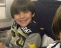 Louis Thomas e David Lee si divertono da matti in aereo