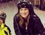 Alena Seredova sulla neve insieme ai figli Louis Thomas e David Lee