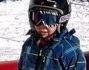 Anche il piccolo David Lee Buffon alle prese con gli sci