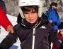 Louis Thomas Buffon pronto per la lezione di sci