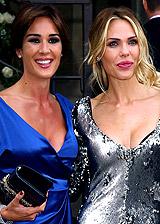 Anche Ilary Blasi e Silvia Toffanin al matrimonio della Hunziker: le foto