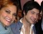 Simona Ventura insieme al suo 'ex' pupillo Davide Merlini e Luca Tommasini