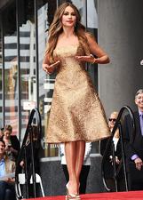 Sofia Vergara ha la sua stella sulla Walk of Fame: le foto