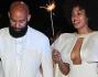 Solange Knowles e Alan Ferguson hanno optato per un look ed una festa total white