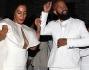 Solange Knowles e Alan Ferguson scatenatissimi dopo la cerimonia festeggiano in strada tra musica e balletti