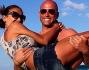 Stefano Bettarini ed Ilenia Iacono sulla bianca sabbia di Miami in vacanza