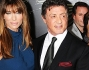 Sylvester Stallone, Jennifer Flavin, Sistine Rose, Sophie Rose e Scarlet Rose sul red carpet di \'The Expendables 2\'