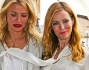 Kate Upton, Leslie Mann e Cameron Diaz in bianco al photocall di 'The Other Woman'