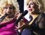 Tina Cipollari ospite con alcune Drag Queen all'executive di Milano