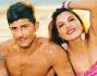 Valeria Bigella e Alessio Bruno posano sulla spiaggia di Fiumicino