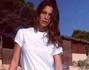 Claudia Galanti con Liam e Tal Harlow ad Ibiza