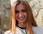 Miss Italia Giulia Arena a Pitti Uomo 85 da St.Moritz