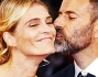 Si sono scambiati coccole e baci sul tappeto rosso: Fausto Brizzi e Claudia Zanella