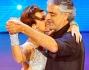 Andrea Bocelli e Nancy Berti sul palco di Ballando con le Stelle