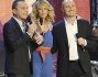 Alessia Marcuzzi sul palco con Rudy Zerbi