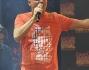 Gigi D'Alessio durante le prove al Coca Cola Summer Festival 2014
