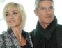 Paola Barale con Giorgio Restelli