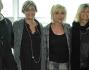 Paola Barale con Laura Casarotto, Giorgio Restelli, Leonardo Pasquinelli e la produzione