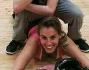 Tania Cagnotto con il suo insegnante di break dance Mattia Vanin