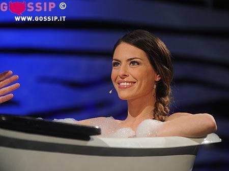 Cipriani Vasca Da Bagno.Pamela Camassa E Francesca Cipriani Sexy Ospiti Del