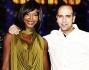 Checco Zalone e Youma Diakite sul palco del \'Resto Umile World Show\'