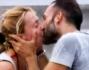 Il bacio della vittoria: Debora Villa e Alessandro Sampaoli