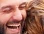 Si trattengono a stento le lacrime di felicit� per Debora Villa e Alessandro Sampaoli