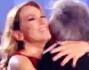 Riccardo Fogli accolto calorosamente da Barbara D'Urso