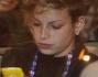 Emma Marrone va via in auto dopo aver passato una serata di divertimenti per festeggiare il secondo posto al Festival di Sanremo