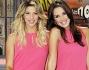 Le Veline si vestono di fucsia: Giulia Calcaterra ed Alessia Reato