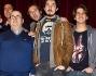 Il cast del musical: Paolo Ruffini e Sergio Muniz con Gianni Fantoni,Jacopo Sarno,Paolo Calabresi e Pietro Sermonti