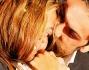 Bacio dopo tanto tempo tra Giorgia Palmas vincitrice del reality ed il marito Davide Bombardini