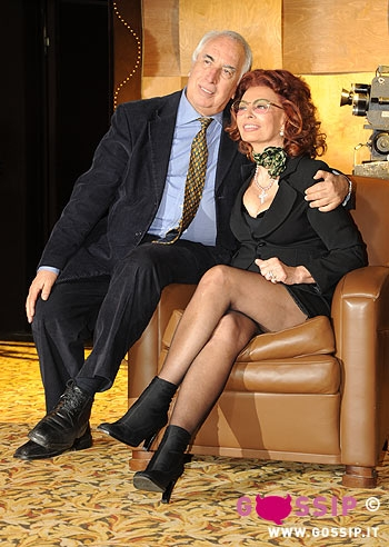 Sophia loren e il regista vittorio sindoni foto e gossip - Mia la casa italiana ...