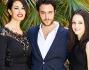 Alessio Vassallo con Maria Grazia Cucinotta e Marta Gastini
