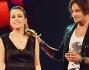 La vincitrice di The Voice Elhaida Dani con il secondo classificato Timothy Cavicchini