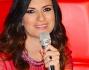 Laura Pausini è uno dei coach del Talent Show: eccola durante la conferenza stampa