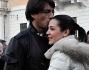 Marcelo Fuentes bacia Valentina Arquilla sulla fronte nella nuova esterna di 'Uomini e Donne'