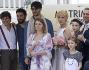 Il cast di Matrimoni e alte follie a Roma