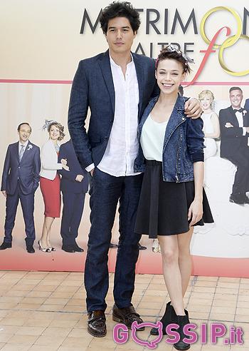 Cristiano Caccamo e Mihaela Dorlan