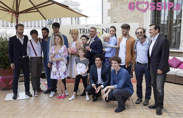 Nancy Brilli risposa Massimo Ghini, ma solo per Canale 5