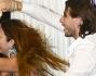 Mirco Petrilli e Giada Di Miceli improvvisano un balletto durante la messa in onda